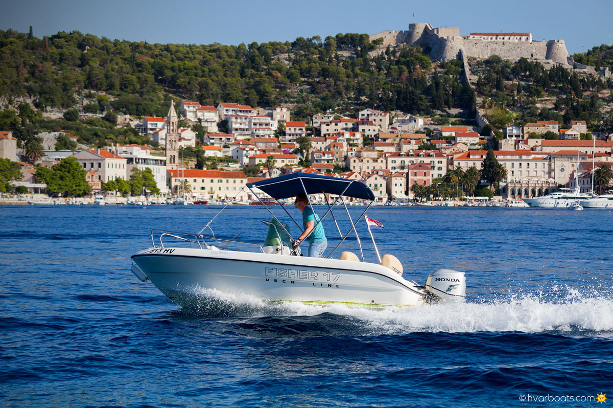 Fisher 17 60HP - Speed Boats - Rent a boat - HvarBoats